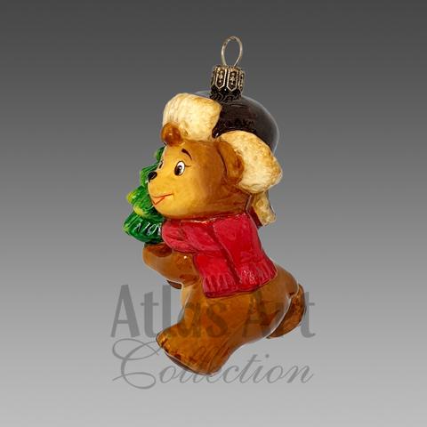 Мишка с ёлкой