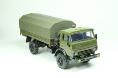 KAMAZ-4326 with awning khaki Elecon 1:43