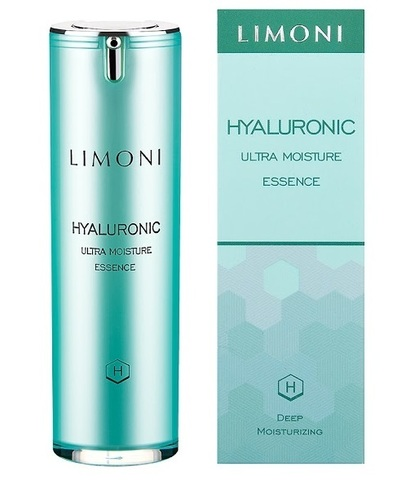 LIMONI Ультраувлажняющая эссенция для лица с гиалуроновой кислотой - Hyaluronic Ultra Moisture Essence 30 мл
