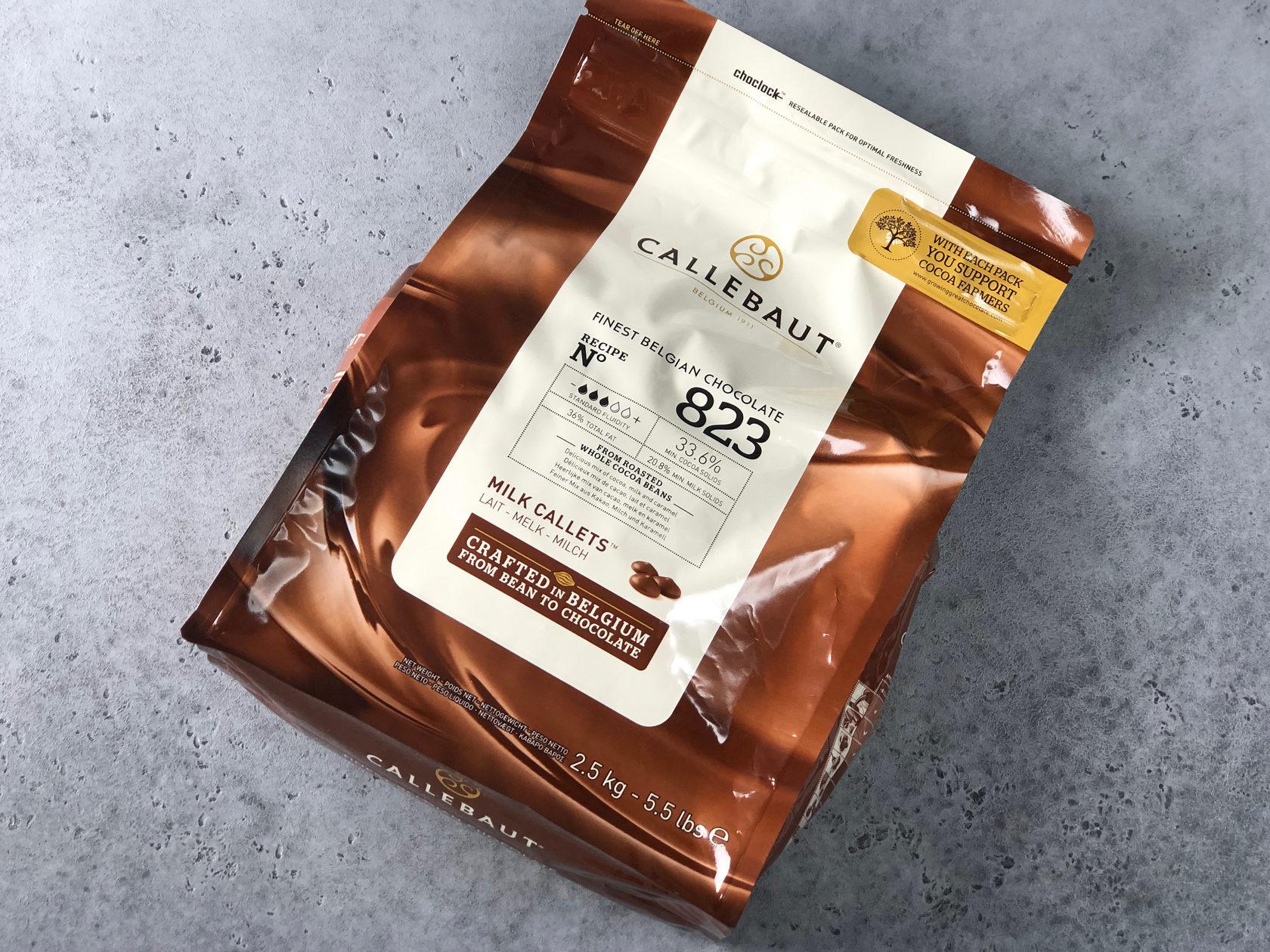 Шоколад молочный Barry Callebaut 33,6%, 2,5 кг
