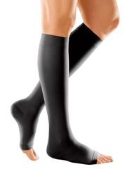 Компрессионные гольфы Duomed с открытым носком
