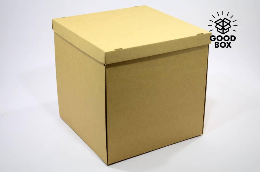 Большая крафт коробка купить в Алматы