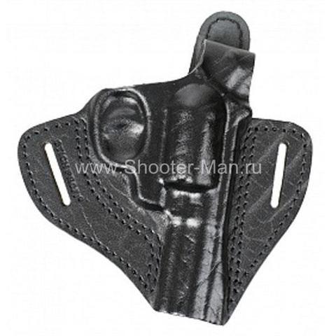 Кобура кожаная для револьвера Гроза Р-03 ( модель № 2 ) Стич Профи