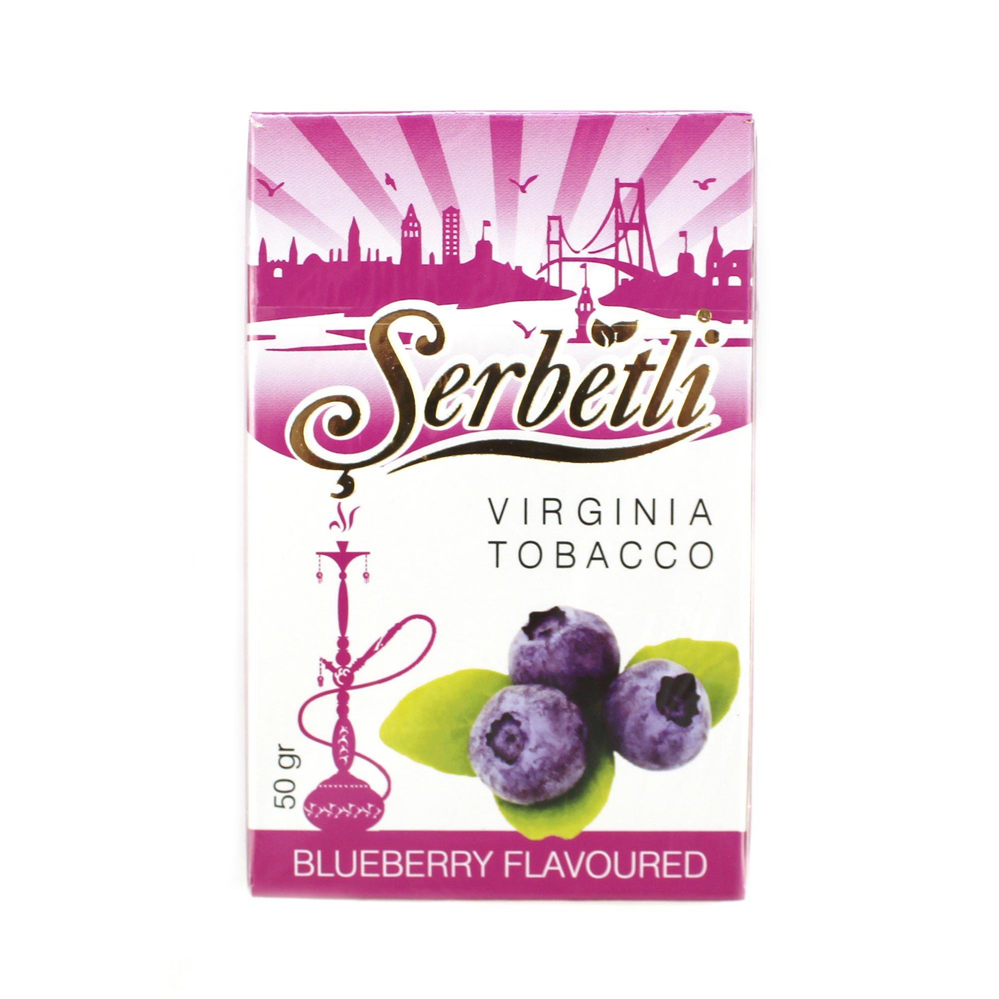 Табак для кальяна Serbetli Blueberry 50 гр.