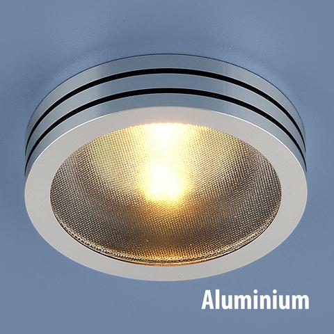 Точечный светильник из алюминия 5153 MR16 CH/BK хром/черный