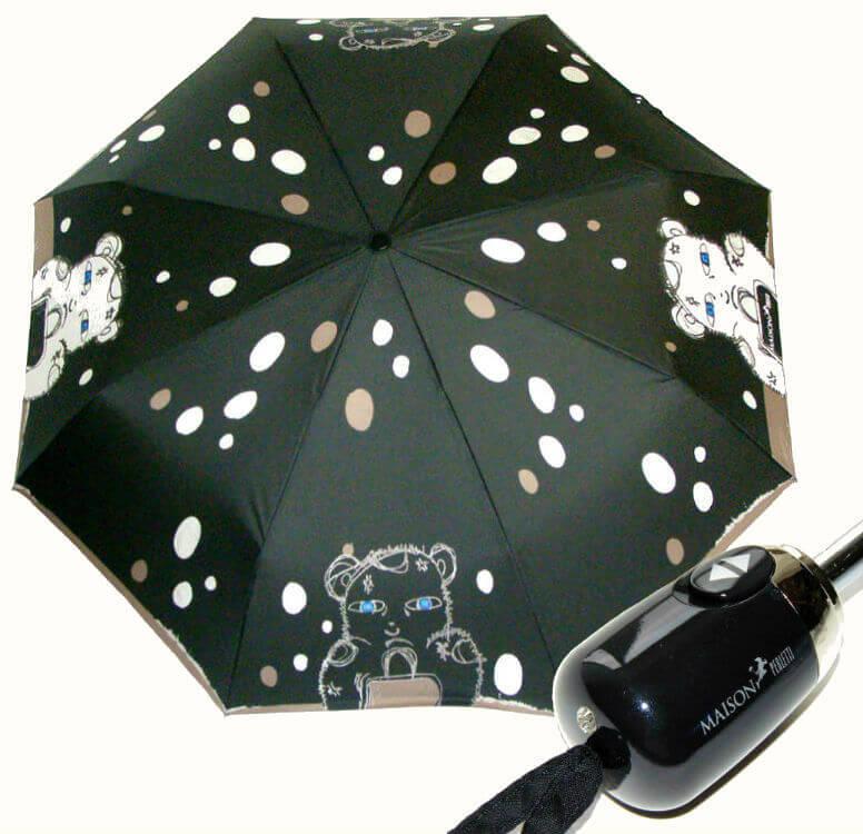 Зонт складной Maison Perletti 16219-b Bear design