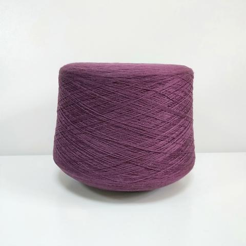 Zegna Baruffa, Cashwool, Меринос 100%, Очень темный красно-пурпурный, 2/30, 1500 м в 100 г