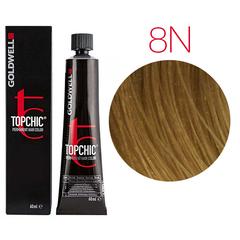 Goldwell Topchic 8N (светло-русый) - Cтойкая крем краска