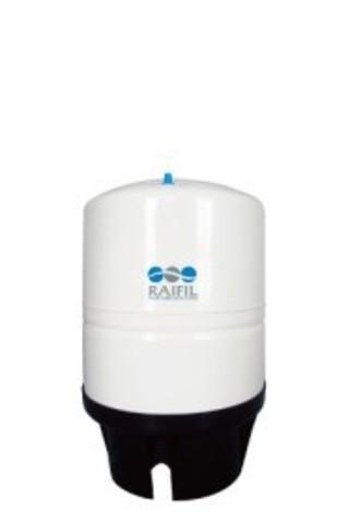 Накопительная емкость металлическая ROT-11W (объем 11Gal/40 литров, белый) Райфил