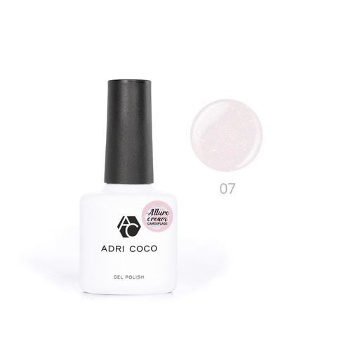 Гель-лак ADRICOCO Est Naturelle №07 камуфлирующий персиковый с шиммером (8 мл.)