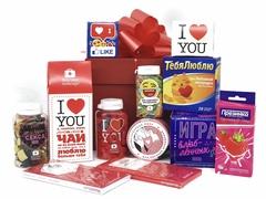 Сладкий подарок на 14 февраля для влюбленных