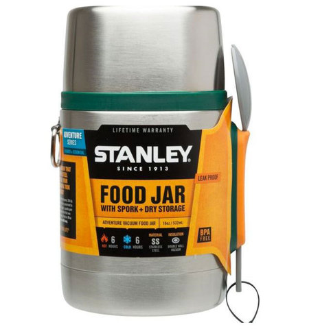 Картинка термос для еды Stanley Adventure Food 0.53L Зеленый