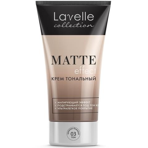 LavelleCollection Крем тональный Matte Effect тон 3 кремово-бежевый FTM-03
