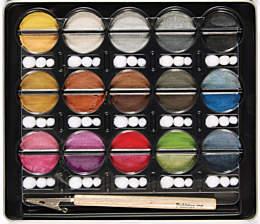 Меловые краски  Metallic Cream Chalks от Pebbles