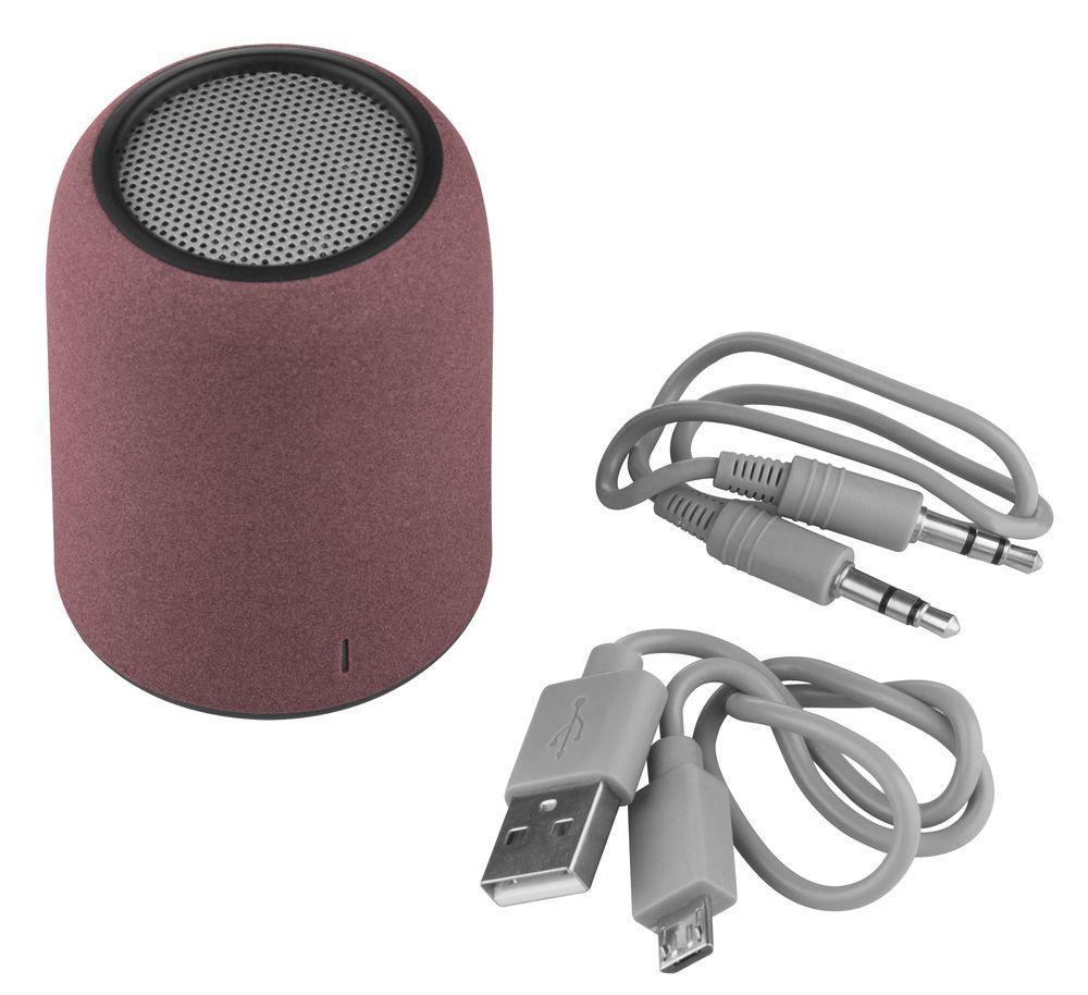 Grinder Bluetooth Speaker, dark red