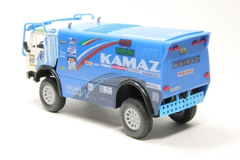 KAMAZ-4911 #407 Rally Paris-Dakar Elecon 1:43