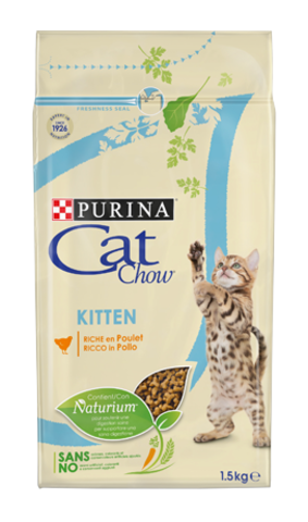 Cat Chow Kitten - для котят с курицей
