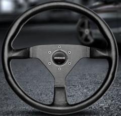Руль momo Montecarlo-black 35 (диаметр 350 мм.)