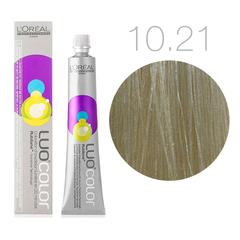 L'Oreal Professionnel Luo Color 10.21 (Светлый блондин пепельный радужный) - Краска для волос