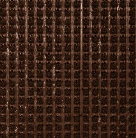 Щетинистое покрытие Темный шоколад 0,9х15 м