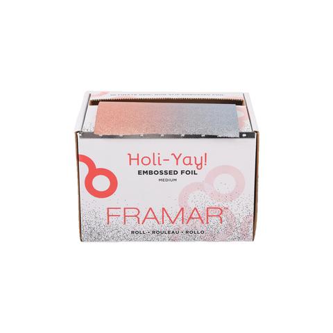 Embossed Roll Medium Holi-Yay 2019   Фольга в рулоне с тиснением «Вдохновение праздника» в упаковке