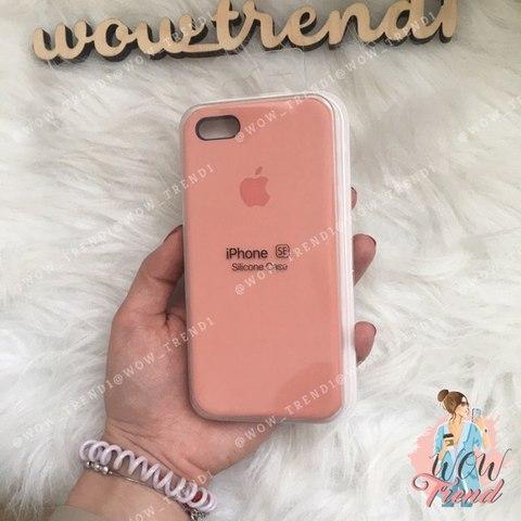 Чехол iPhone 5/5s/SE Silicone Case /flamingo/ фламинго 1:1
