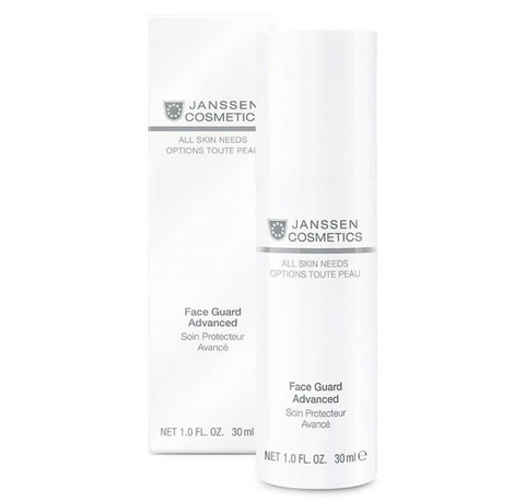 Лёгкая солнцезащитная основа , дневной защитный крем для всех типов кожи Face Guard Advanced SPF 30, All skin needs, Janssen Cosmetics, 30 мл