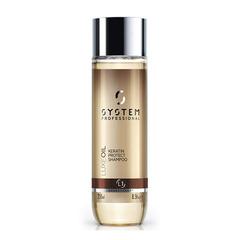 Восстанавливающий шампунь с кератином Wella SP Fibra L1 Luxe Oil Keratin Protect Shampoo