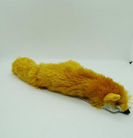 NEMS Игрушка лиса-шкурка с пищалками 35см
