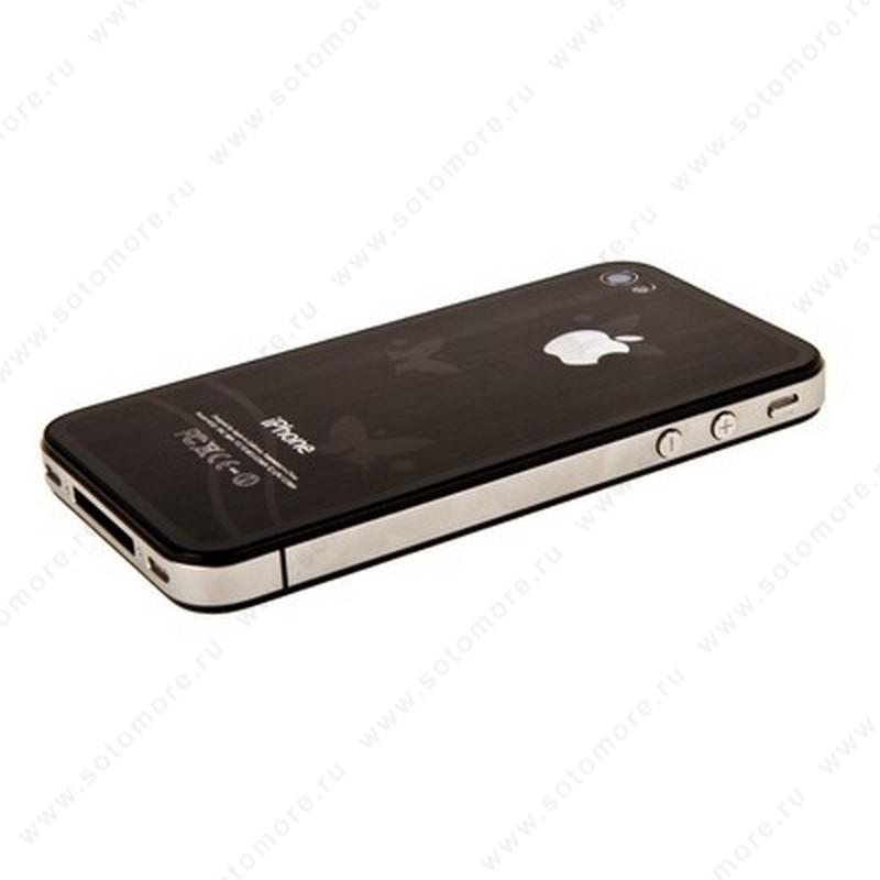Пленка защитная SOTOMORE PREMIUM для iPhone 4s 2в1 2в1 бриллиант 3D бабочки