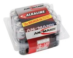 Батарейка ANSMANN Red Alkaline AA (1.5V) - 20 шт.