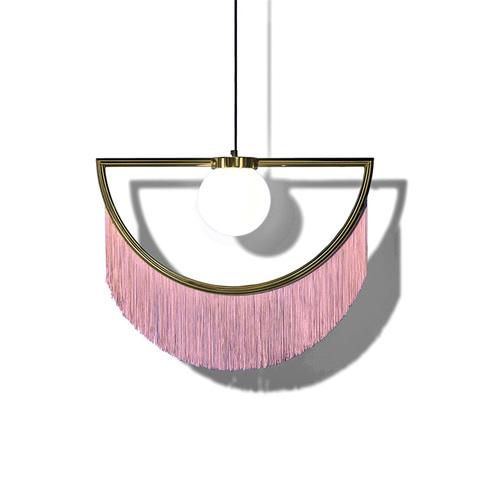 Подвесной светильник копия Wink by Houtique (розовый)