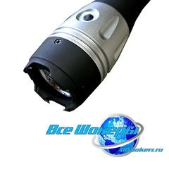 Электрошокер-фонарь Молния YB-1323 (HY-8800)