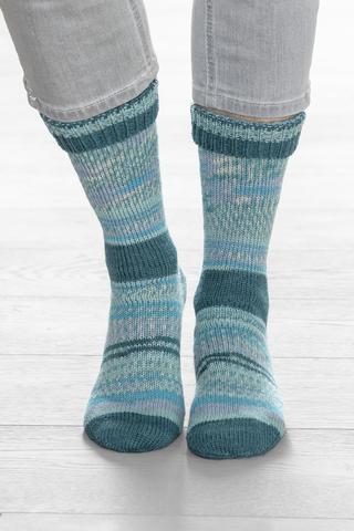 Носочная пряжа Gruendl Hot Socks Simila 406 купить