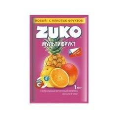 Растворимый напиток Zuko Мультифрукт (блок 12 пакетов)