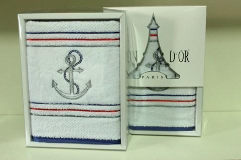 MARINE  МАРИНЕ полотенце махровое в коробке Maison Dor Турция