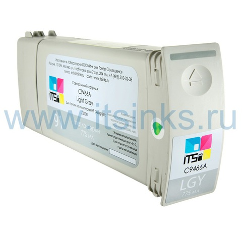 Картридж для HP 91 (C9466A) Light Gray 775 мл