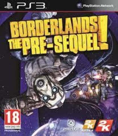Borderlands: The Pre-Sequel (PS3, английская версия)