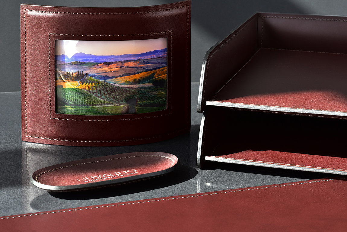 Рамка для фотографий BUVARDO LUX из кожи Full Grain Bologna Brown