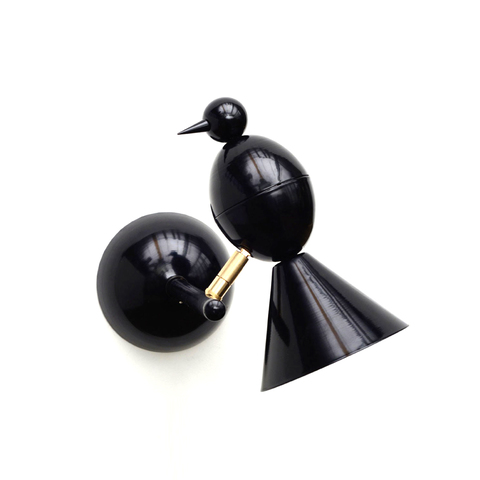 Настенный светильник копия Alouette by Atelier Areti (черный)