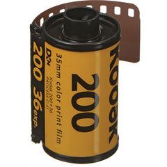 Фотопленка Kodak GOLD 200 Color Negative Film (35мм, 36 кадров)