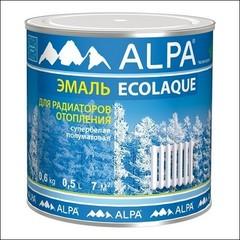Эмаль для радиаторов ALPA Экоэмаль (Белый)