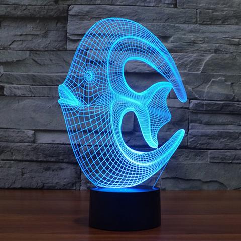 Лампа Рыба-круг