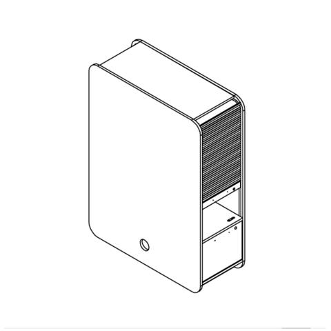 STAND UP шкаф двухсторонний для рабочей станции