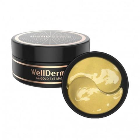 Гидрогелевые Патчи С Золотом И Ферментом Германия WELLDERMA Ge Gold Eye Mask