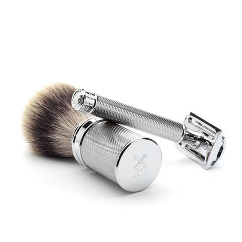 Т-образная бритва MUEHLE TRADITIONAL R 89, хром, closed comb