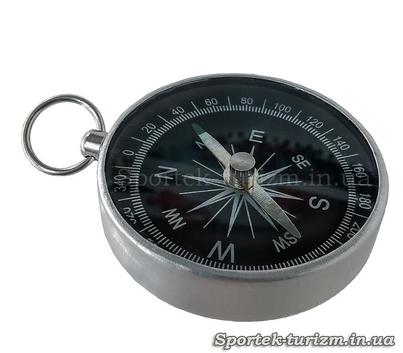 Магнитный компас G44 (d-44мм, металл, пластик)