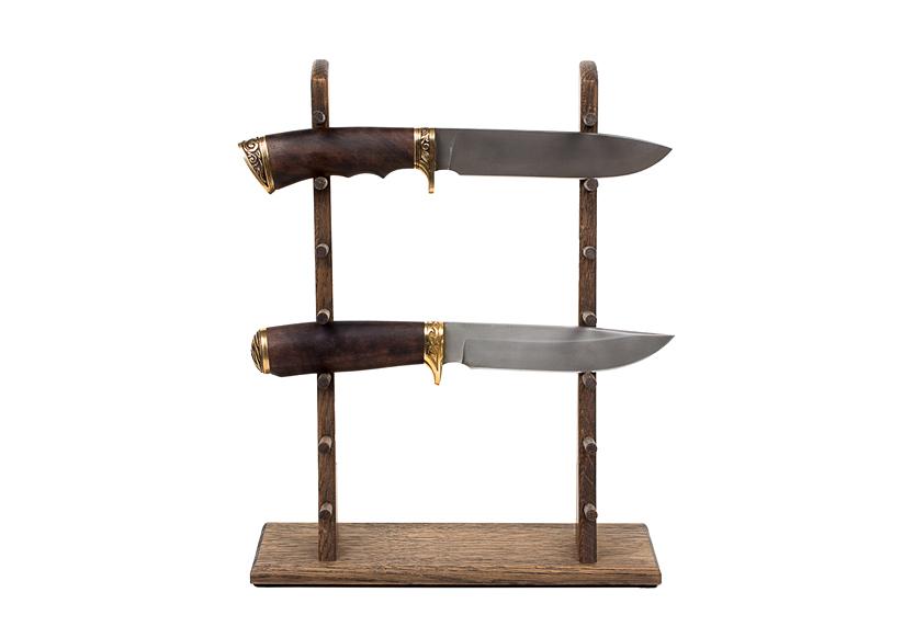 Стойка из дуба для 7 ножей