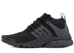 Кроссовки Мужские Nike Air Presto Ultra Flyknit Triple Black