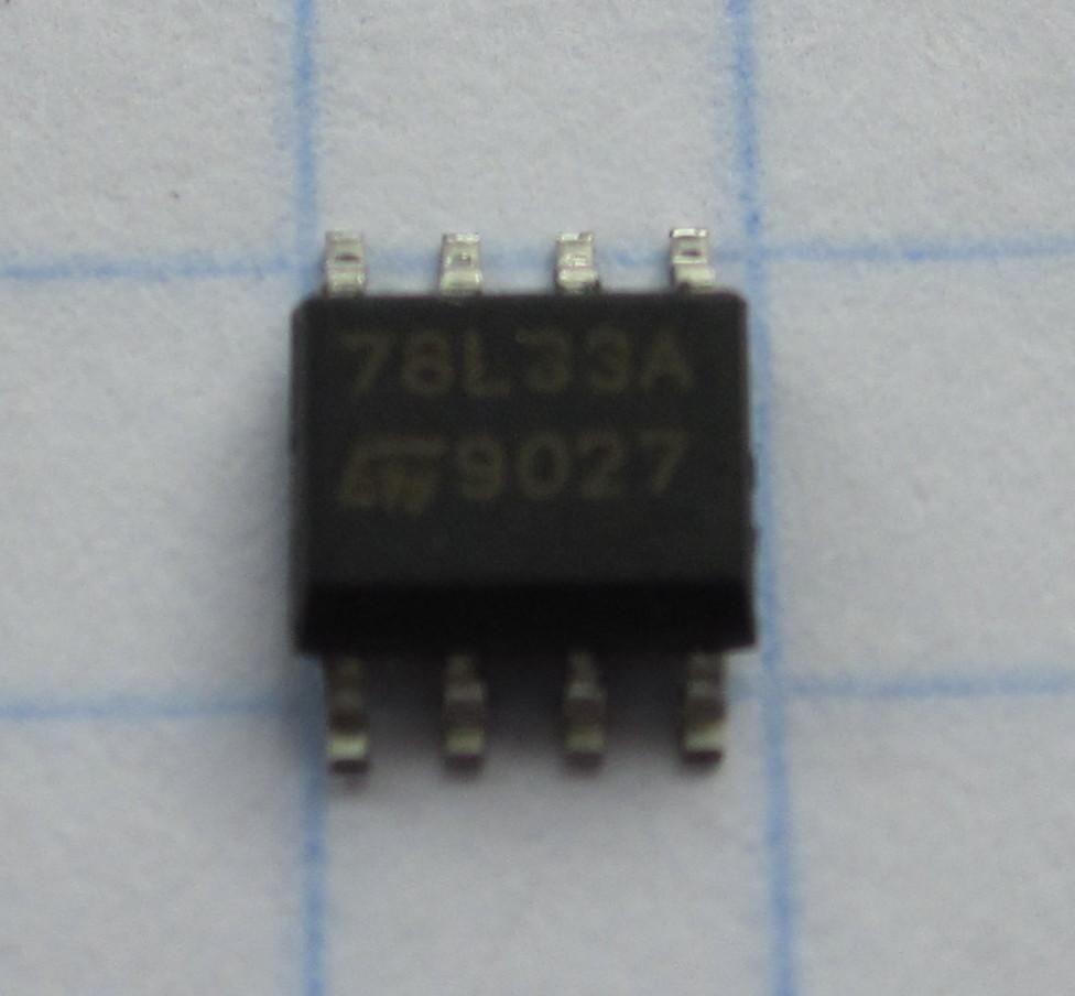 78L33 so-8 3,3V
